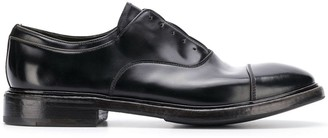 Premiata laceless Oxford shoes