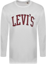 Levi's Levis Crew Neck Graphic Logo T Shirt White