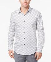 Tasso Elba Men's Medallion Supima Cotton Shirt, Created for Macy's