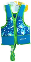 Aqua Leisure Boys Printed Swim Vest, with safety strap
