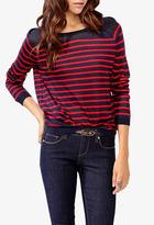 Forever 21 Striped Raglan Sleeve Sweater
