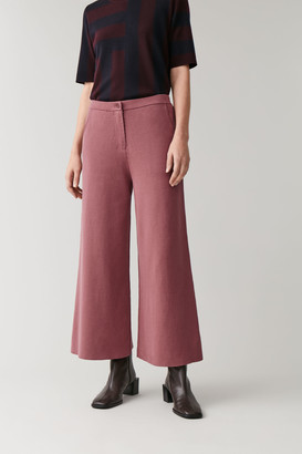 Cos Wide-Leg Knitted Pants