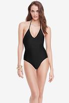 Diane von Furstenberg Newport Halter One Piece Swimsuit
