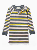 Kate Spade Toddlers metallic stripe dress