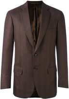 Brioni check blazer - men - Wool/Cupro - 46