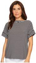 Lauren Ralph Lauren Striped Jersey T-Shirt Women's T Shirt