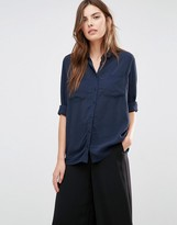 Vila Pocket Front Shirt