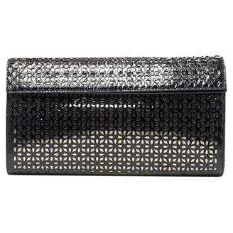 Alaia Black Exotic leathers Clutch bags