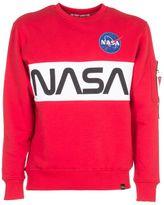 Alpha Industries Nasa Print Sweatshirt