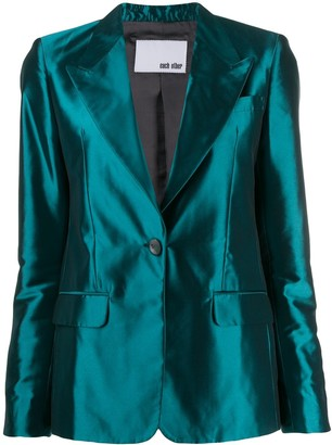 Each X Other Tailored Satin Jacket