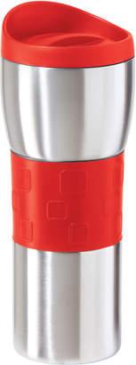 Oggi Red Stainless Steel Travel Mug