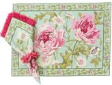 April Cornell Aqua Rose-Nouveau Placemat