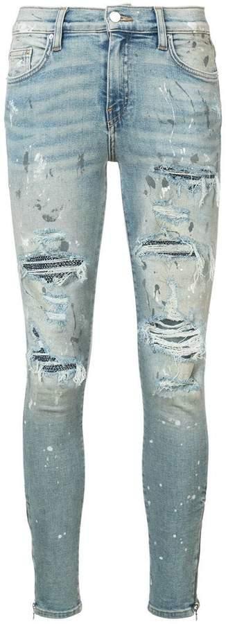 Amiri Crystal Painter jeans
