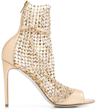 Rene Caovilla Galaxia stiletto sandals