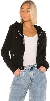 NSF Nala Double Layer Zip Denim Jacket