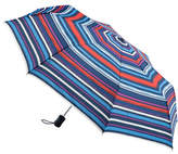 Fulton Violet Blooms Folding Umbrella