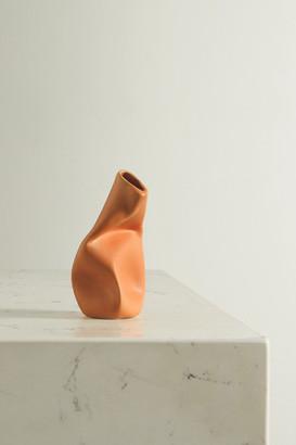 COMPLETEDWORKS + Ekaterina Bazhenova Yamasaki Yesterday Is History Ceramic Vase - Tan