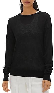 Helmut Lang Semi-Sheer Cashmere Sweater