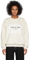 Fear Of God Off-White Sixth Collection Patch Logo Sweatshirt