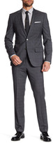HUGO BOSS Hutson Gander Two Button Notch Lapel Suit