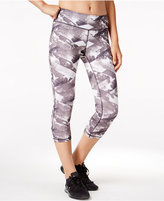 Ideology Cosmic Blocks Printed Cropped Leggings, Only at Macy's