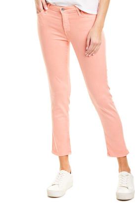 AG Jeans The Prima Peach Quartz Cigarette Crop