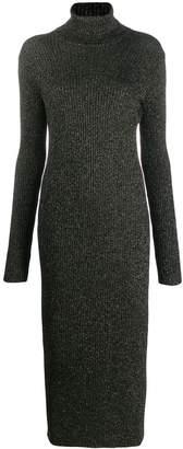 Twin-Set roll neck sweater dress