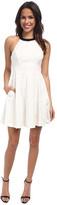 ABS by Allen Schwartz Halter Babydoll Dress