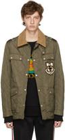 Gucci Green Ufo Parachute Jacket