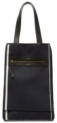 Lutz Morris Saylor Recycled Cotton-canvas Tote Bag - Navy Multi
