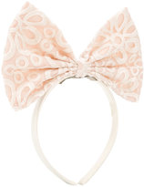 Hucklebones London - giant bow hairband - kids - Polyester - One Size