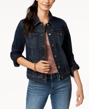 Style&Co. Style & Co. Denim Jacket, In Regular and Petite, Created for Macy's