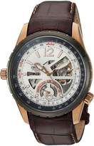 Orient Men's 'Rally' Japanese Automatic Stainless Steel Casual Watch, Color:Brown (Model: FFT00009W0)