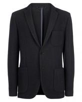 Jaeger Boiled Wool Jersey Jacket