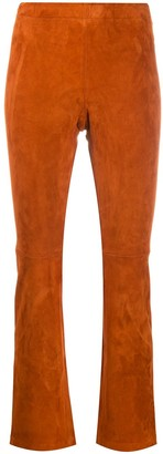STOULS Skinny-Fit Leather Trousers