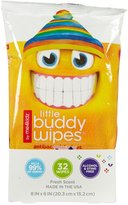Me 4 Kidz Little Buddy Wipes - Dudes - 32 ct