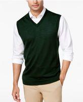 Club Room Men's Merino Wool Vest, Created for Macy's