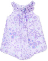 First Impressions Floral-Print Chiffon Bubble Romper, Baby Girls (0-24 months), Only At Macy's