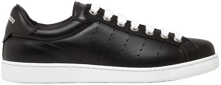 DSQUARED2 Leather Low Sneakers