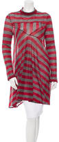 Balenciaga Striped Wool Tunic