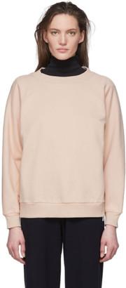 MAX MARA LEISURE Pink Oversized Helga Sweatshirt