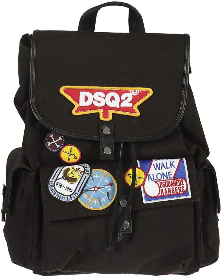 DSQUARED2 Patched Backpack