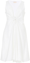 Brock Collection Cotton Knot Front Dallas Dress