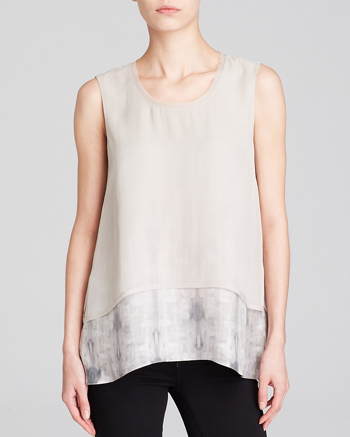 Elie Tahari Rudy Silk Top