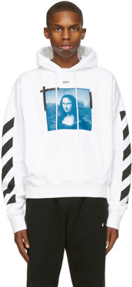 Off-White White Mona Lisa Hoodie
