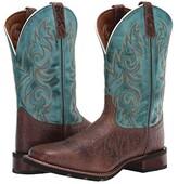 Laredo Bisbee (Brown/Blue) Men's Boots