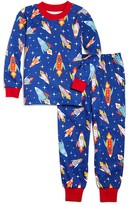 Sara's Prints Boys' Rockets in Flight Pajama Set - Sizes 2-7