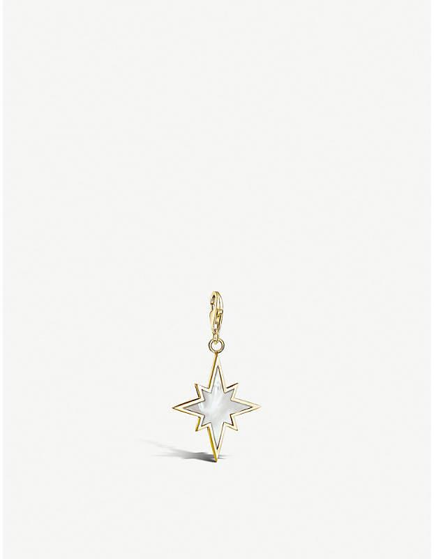 Thomas Sabo Star yellow gold-plated charm