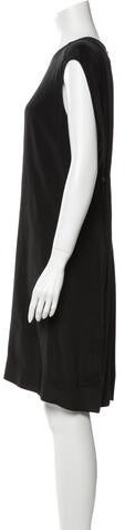 Thumbnail for your product : Alexander Wang Silk Knee-Length Dress w/ Tags Black