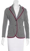 Rag & Bone Merino Wool Wide Lapel Blazer